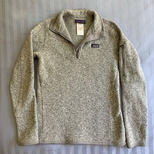 Grey 1/4 zip Patagonia better sweater